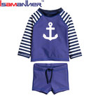 Fashion children lovely unisex swimsuit two piece kids swimwear