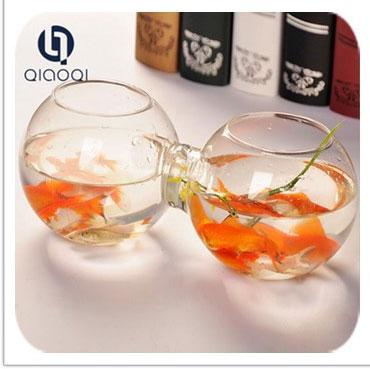 Alta qualidade de vidro de mesa pequeno tanque de peixes/aquário