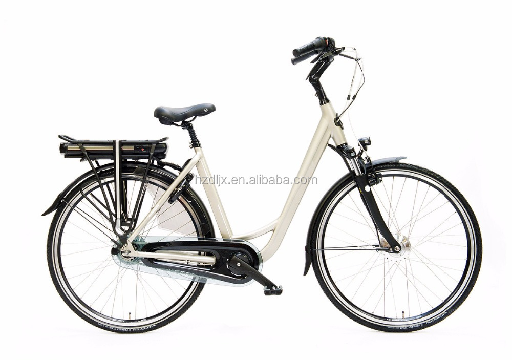 28 inch 250W City Electric Bike Lithium Battery pedal assistance electric city bicycle with CE and EN15194 Ebike