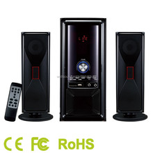 Fashion Design Speaker Bluetooth car subwoofer 2.1 speaker system with amplifier multimedia made in china