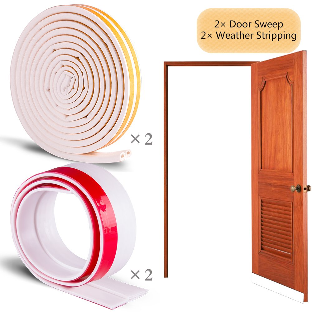 Cheap strip door