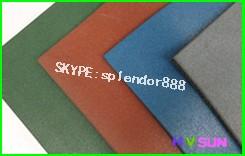 Nuovo piastrelle di gomma per interni ed esterni sport flooring