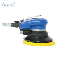 6 inch non-vacuum air sander with high profile