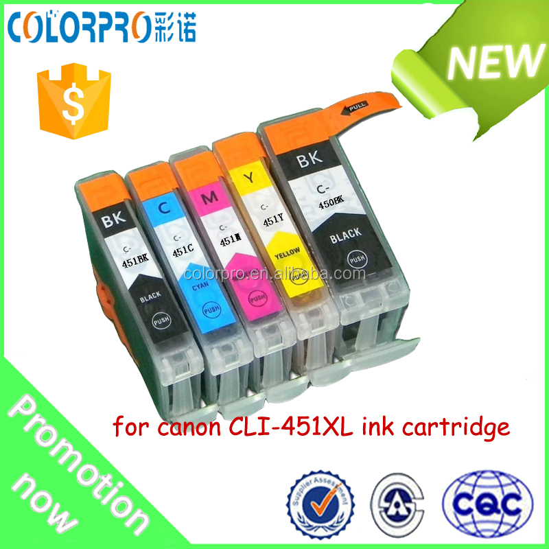 450/451 Ink Cartridge For Canon Pixma Ip 7240/pixma Mg5440 Mg6340 ...