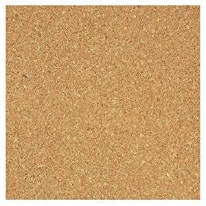 "Board Dudes 12"" x 12"" Light Cork Tiles 4-Pack (70VA-4)"