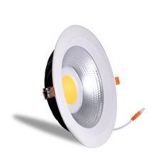 High quality cutout 240mm 10 inch led ceiling downlight black 40w led recessed downlight for supermarket