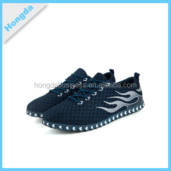 fashion mens outdoor sport shoes knitted running sneakers super light breathable fly woven fabric shoes