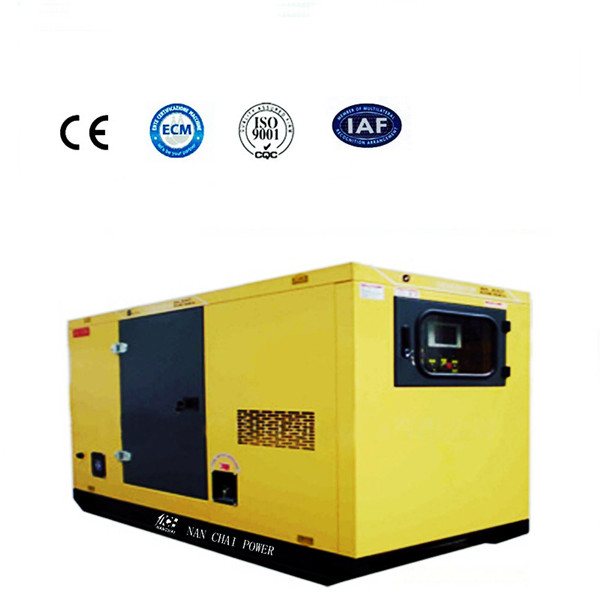 150KVA Enclosed Water-Cooled Diesel Generator Set