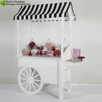 Popular cheaper cotton candy and popcorn mobile cart vending unit donut mobile cart for sale