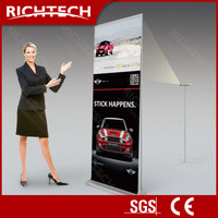 EYE-CATCHING Richtech rear projection roll-up banner