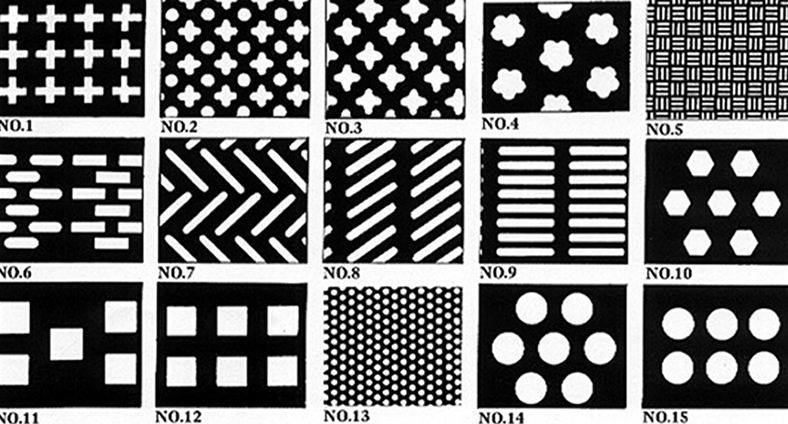 decorative perforated sheet metal panels - Decorative Sheet Metal