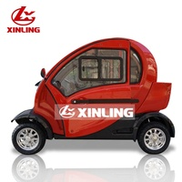 2019 new XINLING 4 wheelers 3 seater high-level luxury electric car without driving licence