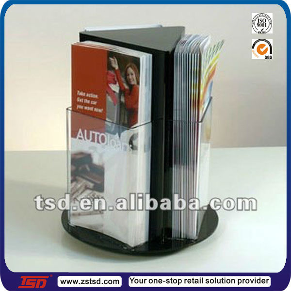 Tsd A634 Hot Sale Acrylic Table Top A4 A3 A5 Brochure