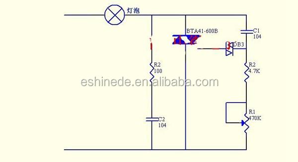 4000w Ac 220v Scr Voltage Regulator Speed Controller