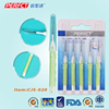 Dental micro cleaner proxy polishing brushes applicator