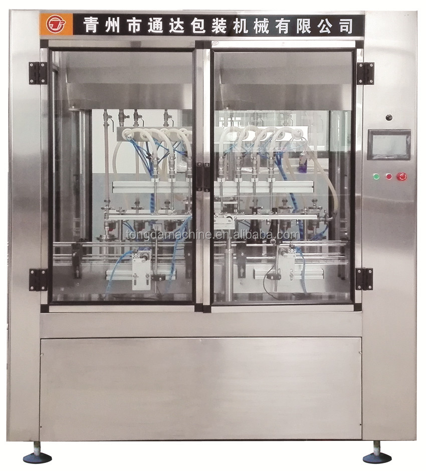 corn oil bottling machine small glass bottle filling and capping machine
