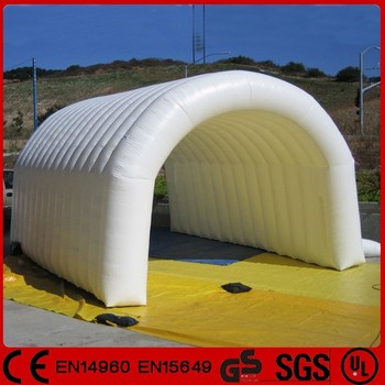 Personnalisé Tunnel Gonflabletente De Paintball Gonflable Tente De