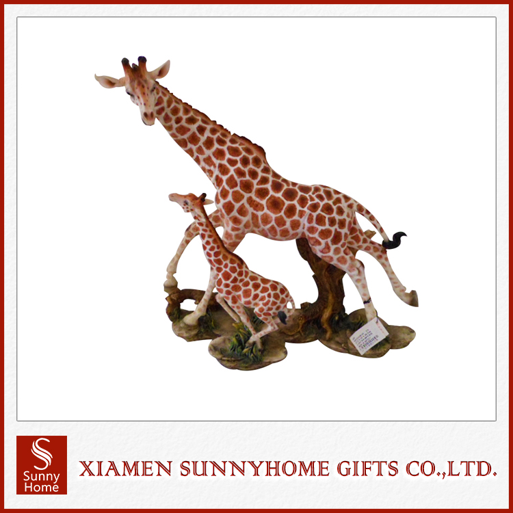 Chinese Manufacturer Crafts Decoration Life Size Giraffe Statue