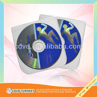 music audio cd duplication services with cardboard packaging