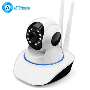 360 Degree Rotating Pan Tilt WIFI Wireless Robot IP Camera for Baby Monitor