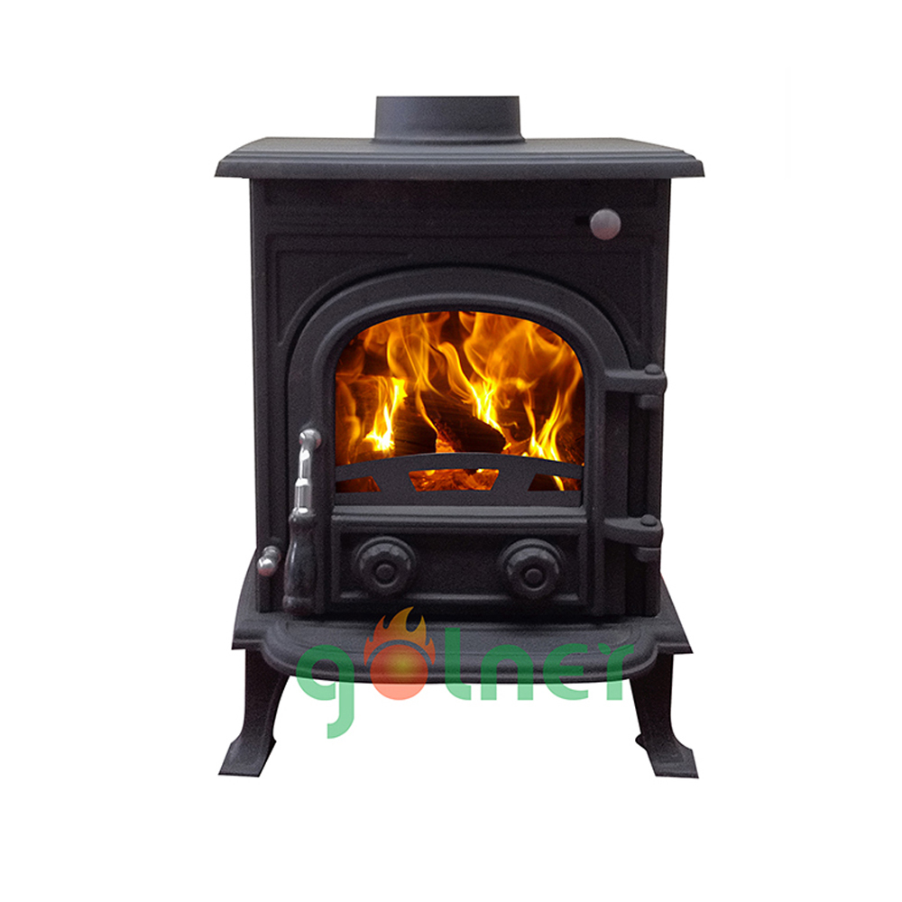 high quality portable wood stove indoor fireplace wood heater 6kw