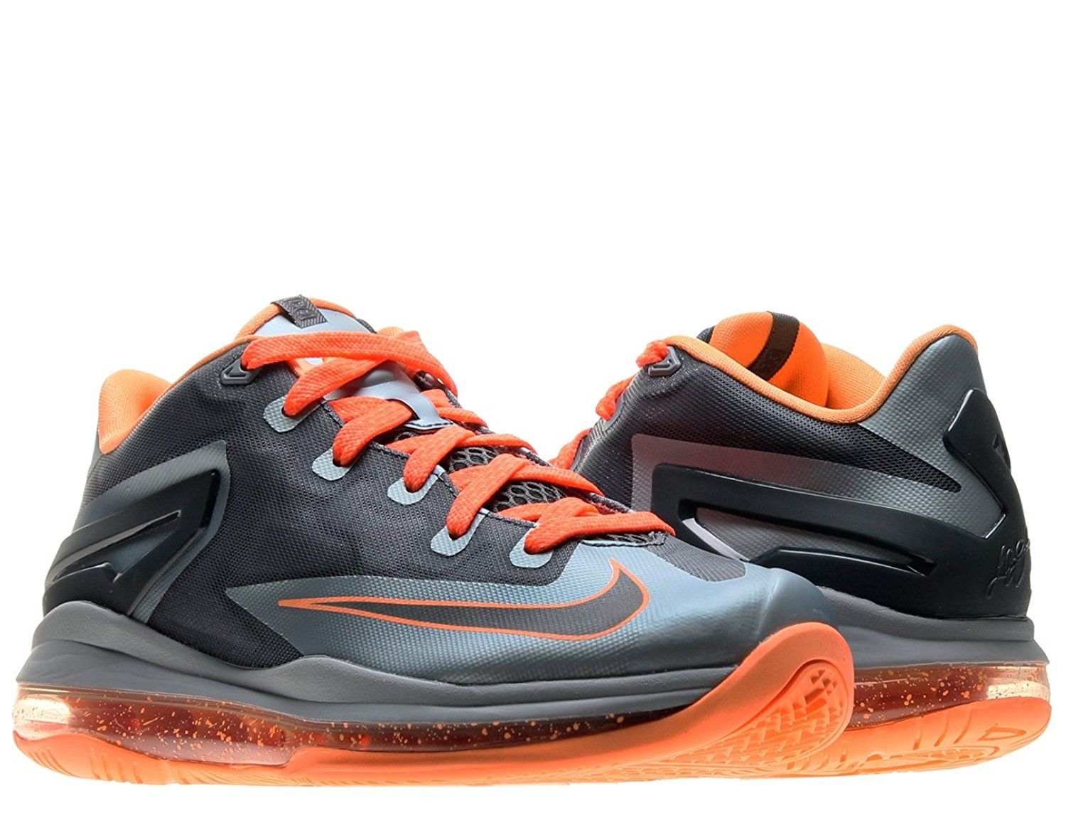 2c1a0ebf02e4 Get Quotations · Nike Air Max Lebron XI Low (GS) Boys Basketball Shoes