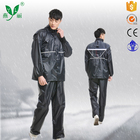 Customize different materials black blue pink Motorcycle raincoat rain suit 230D oxford