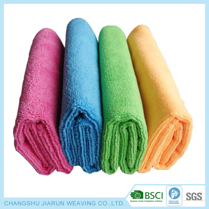 BCSI and WCA supplier factory colorful cleaning towels wholesale microfiber magic cloth for sports,hair,pet,window,kitchen