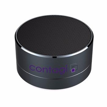 474851da1 Round Metal Wireless Promotion Gift Custom Bluetooth Speaker - Buy ...