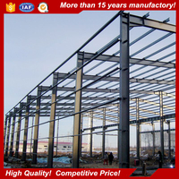 light weight steel warehouse tube frame Building