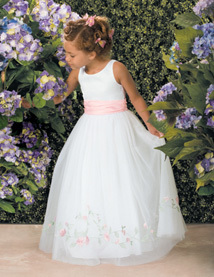 Colourful Lovely Flower Girl Dress Muslim Or Tulle Flower Girl ...