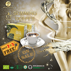 wuling natural slimming weight loss green herbal instant coffee