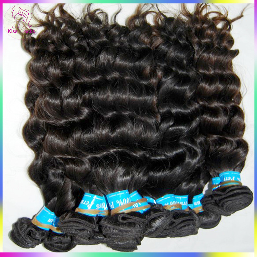 Flower Season Raw Hair Supplier Collection Pure Virgin Peruvian Loose Curly More wavy Weaves Talk NOW!