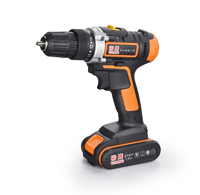 lithium battery electric drill china 21V cordless drill With 2.0AH Li-ion Battery industrial battery cordless drill