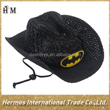 Mejor Venta Handwoven Papel Niños Sombrero De Vaquero Sombrero Del ...