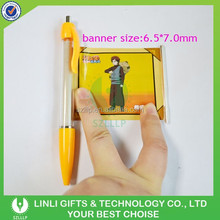 Hot Selling Retractable Cheap Banner Pens With Photos Sublimation Printing