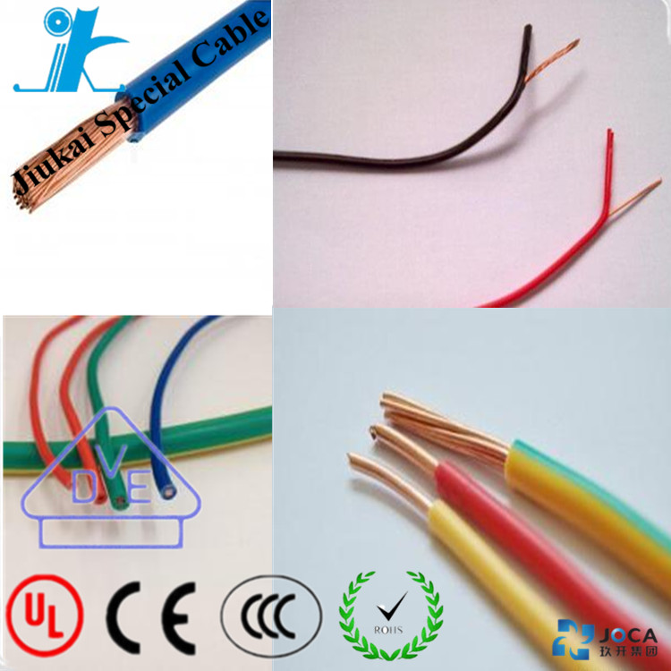 UL certificated UL 1007 wire cable hook up wire electrical installation