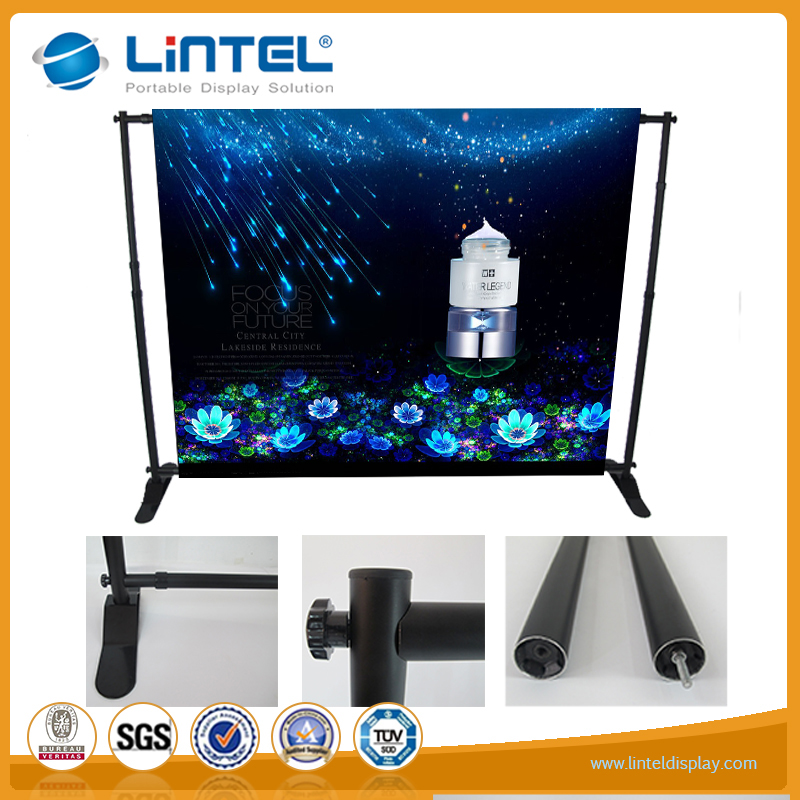 Portable and light adjustable stand for display and trade show events
