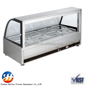 8 Pan Hot Food Display Food Warmer Bain Marie
