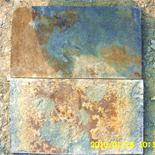 Wall Covering rusty slate roofing tile