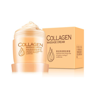 Young skin face lift up herbal facial collagen massage cream
