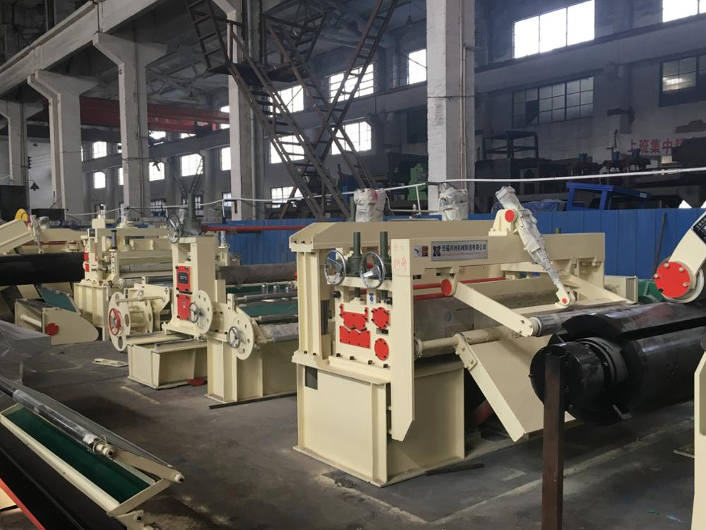 High speed automatic coil strrips slitting line ZJX-3X1600