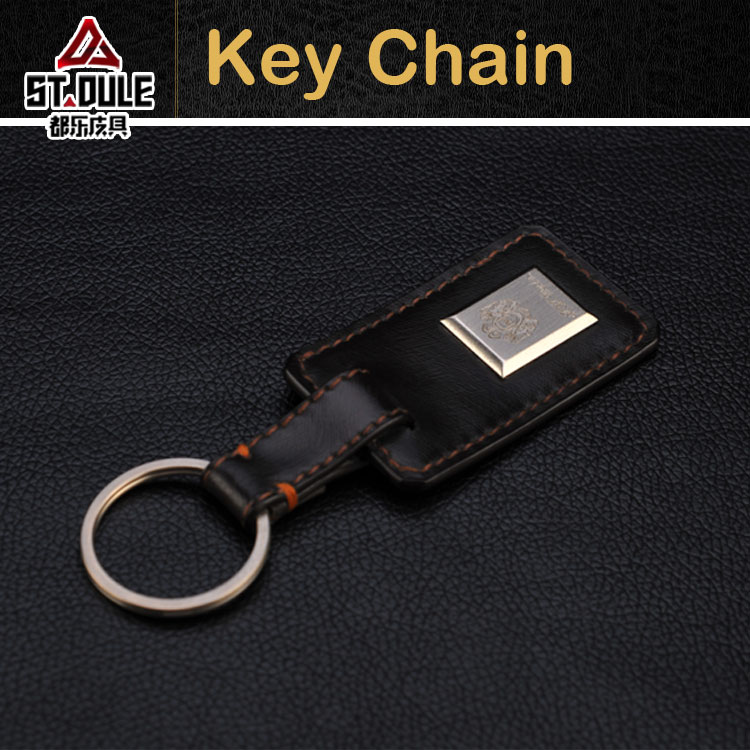 Hot sale OEM leather custom key ring