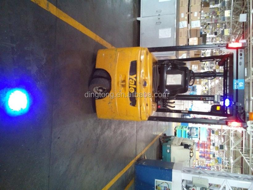 6w Blue Light Forklift Pedestrian Safety 10 110v Back Up