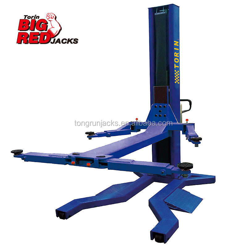 2500 KG Single-Post Hydraulic Car Parking Lift QJY2.5-H