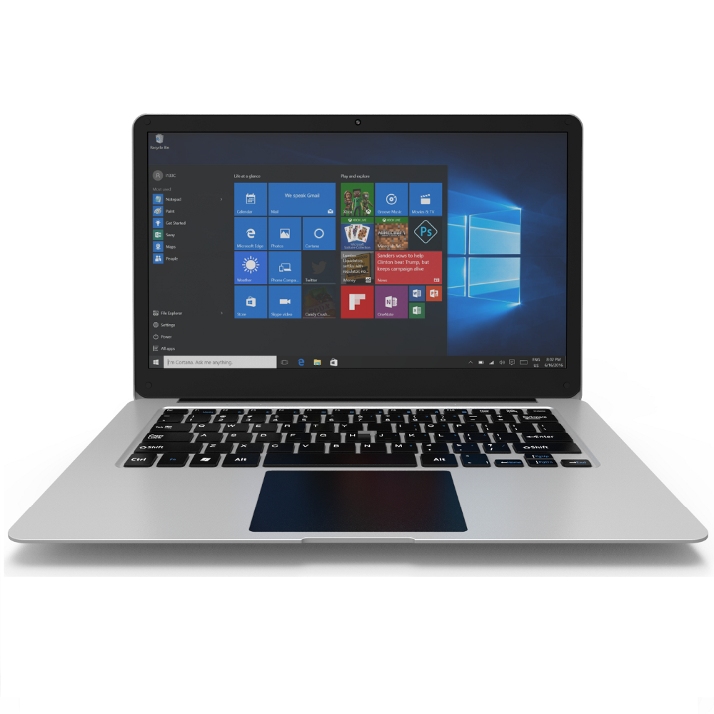 GO-TOP Stream Laptop PC N1411 (Intel Celeron N3350, 4 GB RAM, 32 GB eMMC) with Office 365 Personal for one year