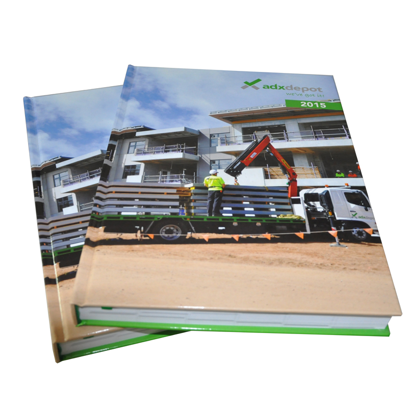 Hardcover Books Printing with Dust Jacket shenzhen printing house