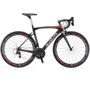 Light Weight Carbon Bike Fibre Frame Road Bicycle 20 Inch V Brakes Perfect For Road Or Dirt Trail Touring