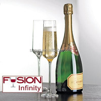 China factory customized glassware producer different size champagne glass flutes