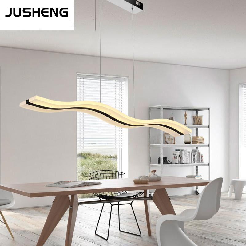nueva cm led ajustable luces pendientes lmpara colgante para el comedor sala de estar